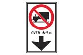 No truck sign 1