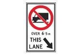 No truck sign 2